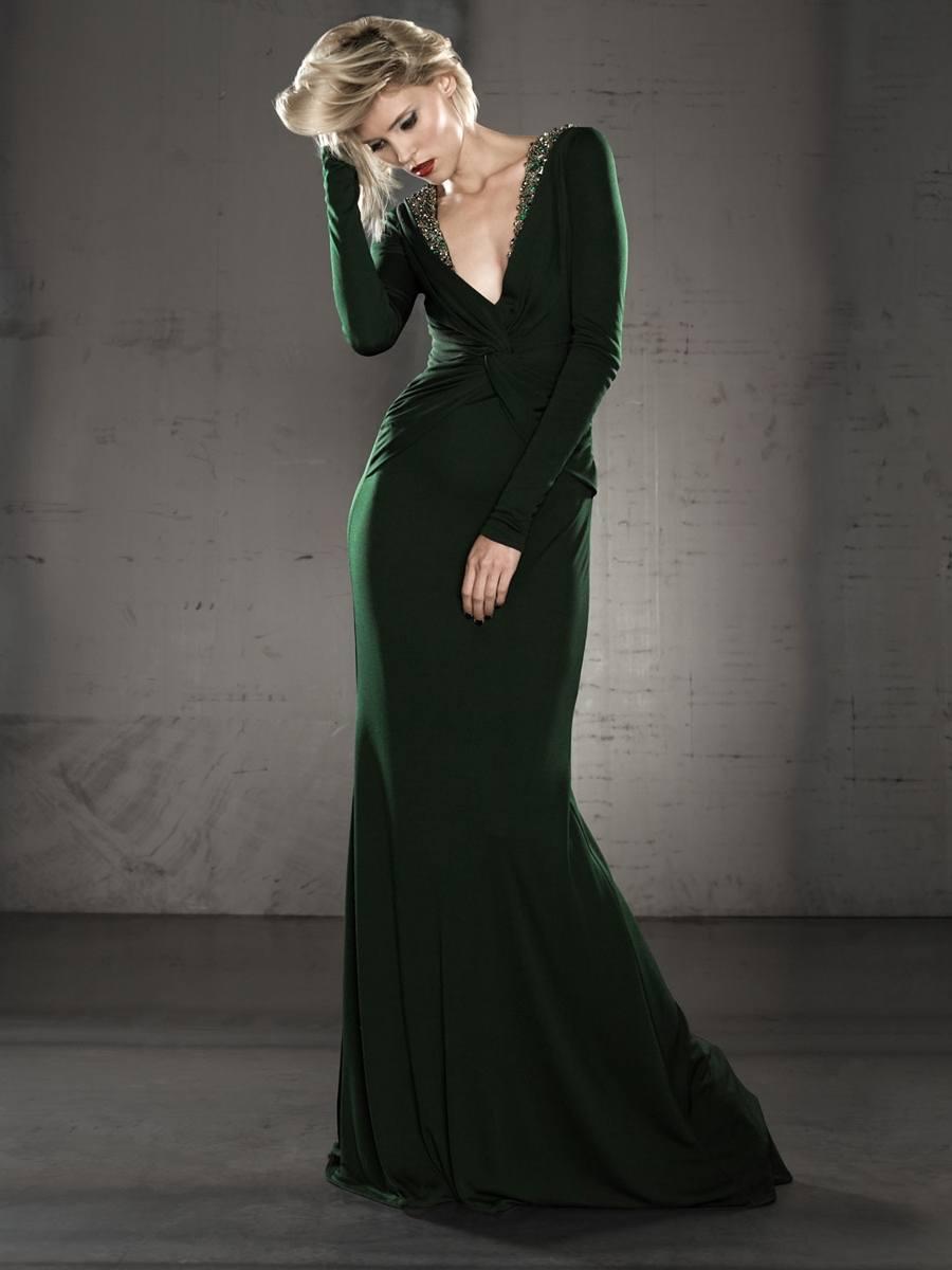 verde esmeralda vestidos